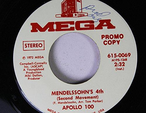 APOLLO 100 45 RPM MENDELSSOHN'S 4th / MENDELSSOHN'S 4th
