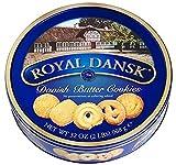 DEU Royal Dansk Biscotti Danesi 100% Puro Burro e Cocco Grattugiato - 1 x 908 Grammi