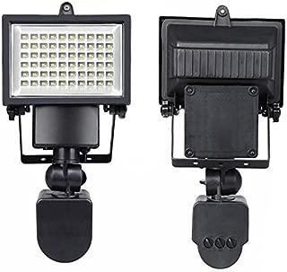 Solar Power Lights Spotlight 60 LED Solar White Light Lamp Spotlight Garden Motion Sensor