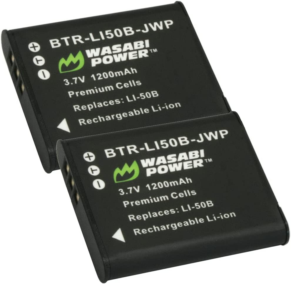 Wasabi Power Battery Super Special 2021new shipping free shipping SALE held 2-Pack for Kodak and LB-052 LB-050