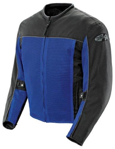 Joe Rocket Velocity Men's Textile Street Racing Motorcycle Jacket - Blue/Black