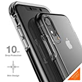 Gear4 33192 Crystal Palace Case Advanced Impact Protection [ Approved D3O ], Slim, Tough Design iPhone XR –, Crystal Palace, Clear