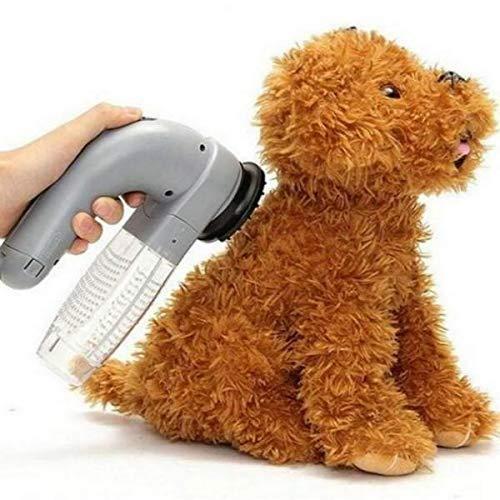 電気ペットヘアリムーバーペットヘア掃除機コードレス掃除機吸引装置猫犬グルーミングブラシくしウール吸収装置