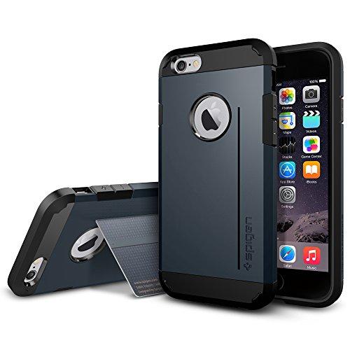 『【Spigen】 iPhone6 ケース, [ 米軍MIL規格取得 衝撃 吸収 パターン 加工 ] タフ・アーマー アイフォン 6 用 耐衝撃 カバー』の3枚目の画像