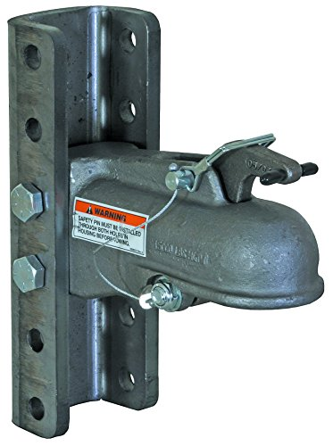 "Buyers Products (0091555 2-5/16"" Channel Mount Heavy Duty Cast Coupler with 5 Position Channel and Fasteners"