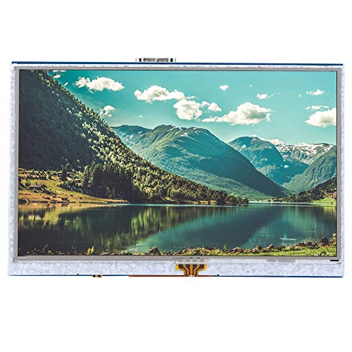 Show Clearer Picture Quality HDMI Display, Screen for Raspberry Pi, Raspberry Pi 3 Model Transfer Interface 5.0 inch for Computer Screen Play Computer Games