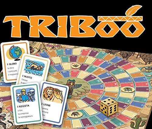 Triboo.Gamebox mit 132 Karten, Spielplan + Download: L'italiano giocando. Gamebox mit 132 Karten, Spielplan + Download
