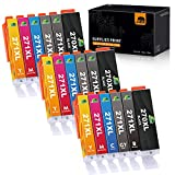 JARBO Compatible Ink cartridges Replacement for Canon PGI-270XL CLI-271XL, 6 Color, 3 Sets (3 PGBK, 3 Black, 3 Grey, 3 Cyan, 3 Magenta, 3 Yellow), Compatible for Canon MG7720 TS9020 TS8020 Printer