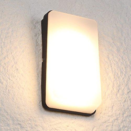 Eenvoudige moderne landelijke Pastoral wandlamp outdoor binnenplaats gang landschap deur lift opslag wandlampen waterdicht super helder LED metaal muurlicht