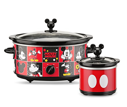 Mickey Mouse Oval Slow Cooker with Dipper,
