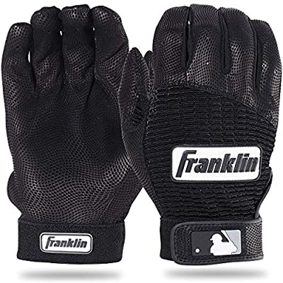 Franklin Sports MLB Pro Classic Baseball Batting Gloves – Adult and Youth Sizes – Premium Pro Grade Quality Leather – Exceptional Breathability