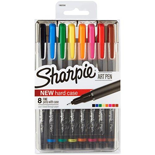 Bolígrafos Sharpie, punta fina, rojo,...