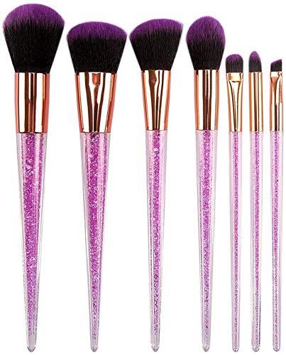 WEHQ Maquillage Pinceaux, Brosses 7pcs Pinceau De Maquillage Ensemble Professionnel Maquillage des Yeux Brosses Fard À Paupières Correcteur Eyeliner Brow Brosse Cosmétiques