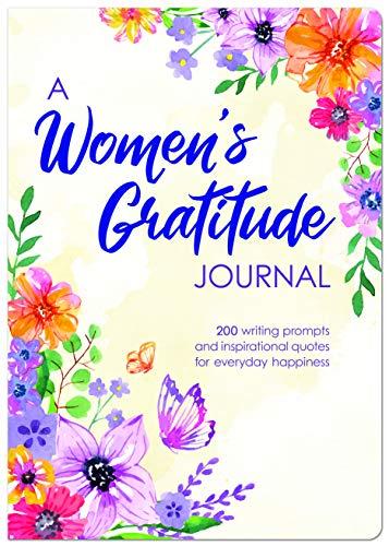 Piccadilly Um diário de gratidão feminino | Caderno diário guiado | Instruções pessoais e citações inspiradoras | Forrado com 1 alerta por divisão | 204 páginas (9781571335784), branco