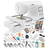Brother SE1900 Sewing Embroidery Machine + Grand Slam Package Includes 64 Embroidery Threads +...