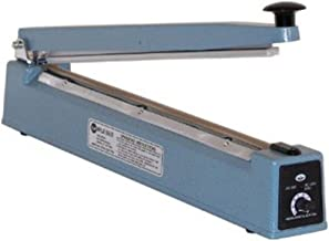 American International Electric AIE-400P Impulse Hand Sealer, 16 Inches Max. Seal Length, 6 Mil Max. Material Thickness, 2 mm Seal Width, Exceptional Air and Watertight Seals on Most Plastic Materials