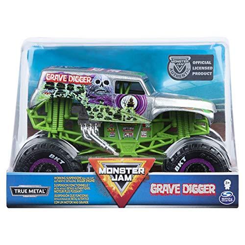 Monster Jam 6054813 - Original Monster Jam Truck im Maßstab 1:24 - Grave Digger