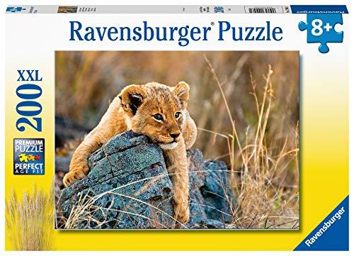 Ravensburger 129461 Piccolo leone, Puzzle 200 Pezzi XXL per Bambini, Età Raccomandata 8+