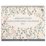 Boxclever Press Kalender 2020 2021 Monatlicher Familienplaner 2021 Wandkalender 2021 mit Monatsansicht und 6 Spalten. Kalender 2021 Wandkalender mit Monatstaben von Sept. 2020 bis Dez. 2021.