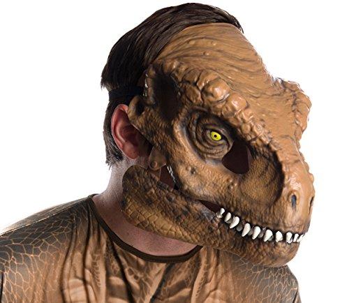 Rubies- Mscara Movible T-Rex Adulto, Talla nica (68058)