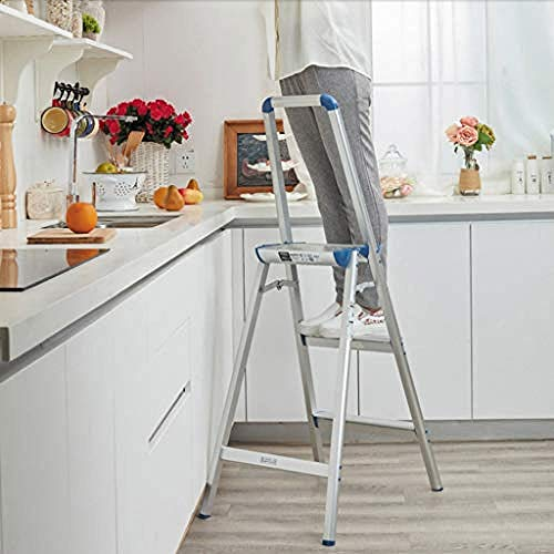 ASDCXZ Step Folding Step Ladder Regalhöhe rutschfeste Waschstufe Step Double-Layer Schuhwechsel Step Foot Home Flower Stand