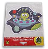 Teaching Tree Paper Shaped Decor Sheets - Alien Spaceship - 36 Count
