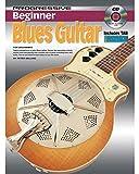Apprendre à jouer de la guitare - débutant Blues Guitare - Électrique - Acoustique - TAB Notes Accords - Cours de tuteur de musique Enseigner vous-même Livre & CD - R5