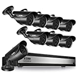ZOSI 16Channel 1080P Surveillance Cameras System 16CH H.265+