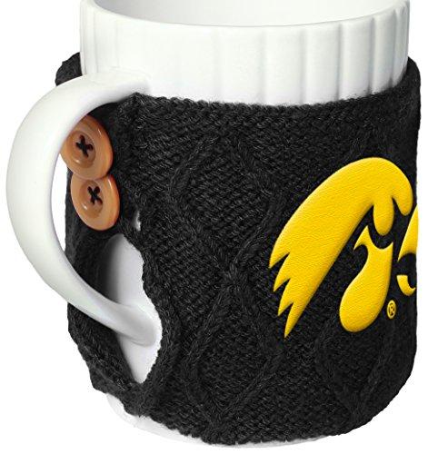 FOCO NCAA Iowa Cable Knit Sweater Mug