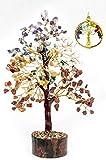 ZENDEN 7 Chakra Tree - Crystal Tree - Natural Healing Gemstone...