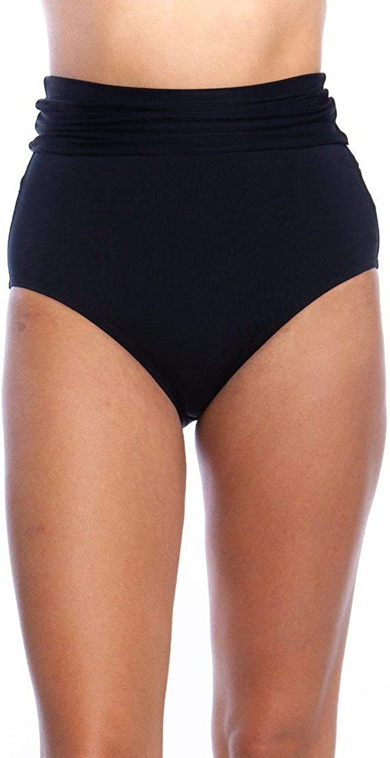 Trina Turk Women's High List price Waist Roll Bo Hipster Swimsuit Bikini Up Weekly update