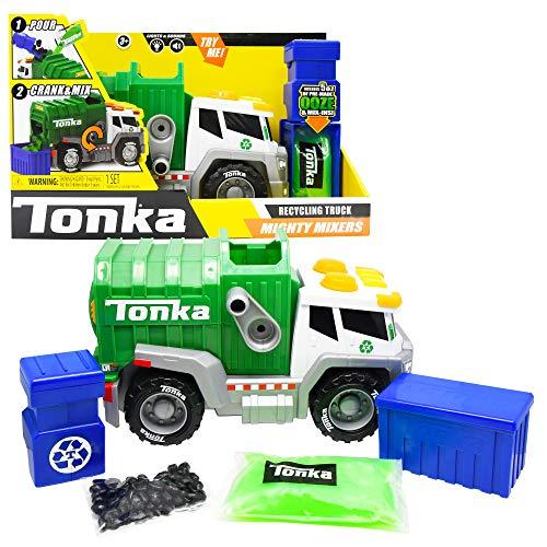 Basic Fun Tonka - Mega Machines Mighty Mixers L&S - Recycling Truck