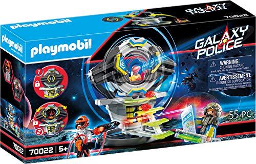 PLAYMOBIL Galaxy Police 70022 Caja Fuerte con Código Secreto, A Partir de 5 Años