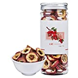 Chinese Hawthorn Fruit Tea,Nature Sun-Dried Berry Slices,Cut Form,Fragrance Citrus Fruit,Chinese Flora Herbal Tea Supplement,Shan Zha-100