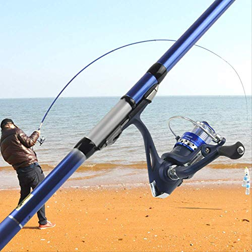 CPAZT High Carbon Rock Fishing Rod Telescopische karper Feeder Telesurf Spinning Pole Rod Ultra Light Hand staaf Tackles