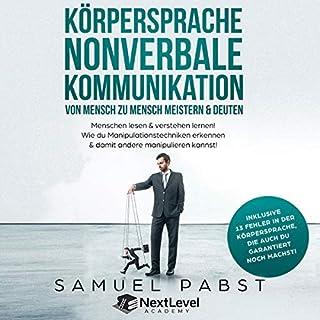 Körpersprache - Nonverbale Kommunikation von Mensch zu Mensch meistern & deuten Titelbild