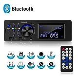 Autoradio avec kit Mains Libres Bluetooth, Double écran LCD, Radio FM, 1 Radio stéréo de Voiture...