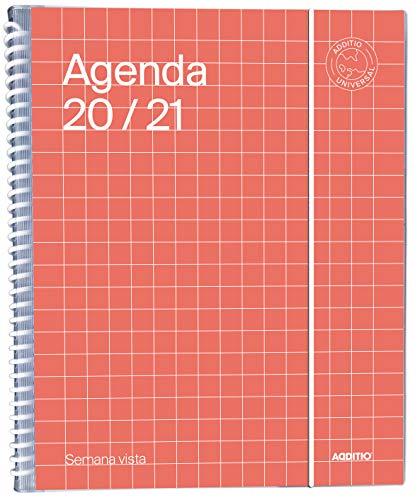 Agenda Universal 2020-2021 Semana Vista - Additio A142-SV