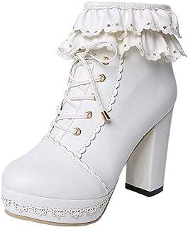 Amazon.es: Los Blancos - Blanco / Botas / Zapatos para mujer ...