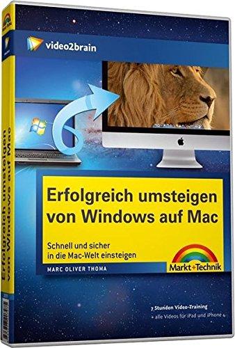 Erfolgreich umsteigen von WIN zu Mac - Videotraining (PC+MAC+Linux) [import allemand]