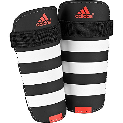 adidas Everlite Schienbeinschoner, Black/White/Solar Red, S