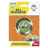 Minion 339239 - Confezione da 50 pirottini per Realizzare Cupcake, in Carta di Colore Verd...