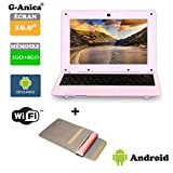 G-Anica Netbook Ordinateur Portable HDMI écr.10.1'- (WiFi, Ethernet, 1.5GHz 1GO+8GO) Tablette -...