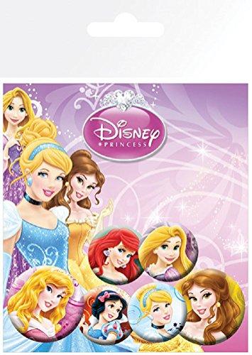 GB eye Disney Princess Princesses Badge Pack