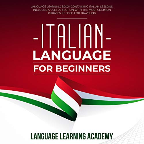 Italian Language for Beginners cover art