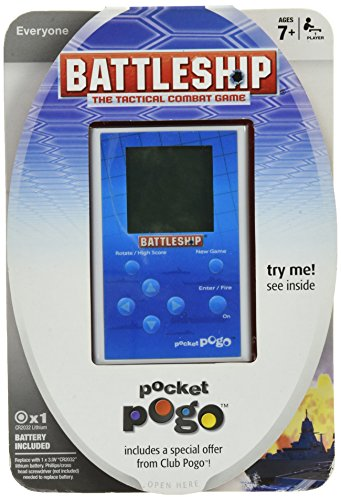 Electronic Handheld Battleship Pogo Pocket Game