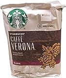 Starbucks Caffe Verona Dark Roast Ground Coffee, Roasty Sweet & Dark Cocoa, 40 Ounce