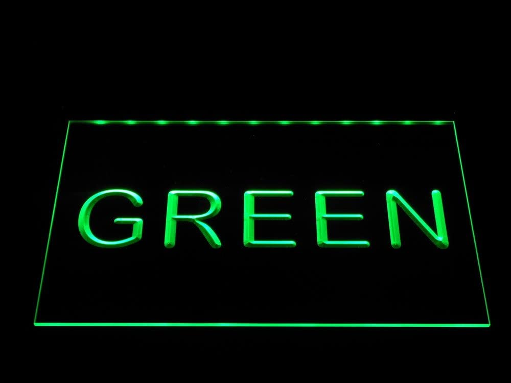 Max 74% OFF ADVPRO Helicopter Parking Only LED Neon Manufacturer direct delivery x 12 Green Sign Inch 8.5