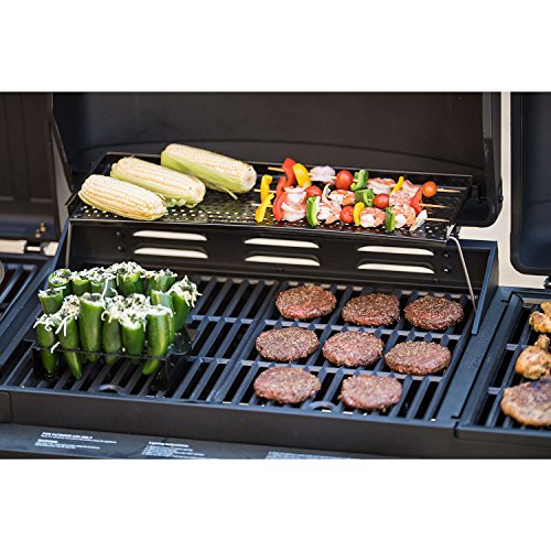 Smoke Hollow Ps9900 4 In 1 Lp Gas Charcoal Grill And