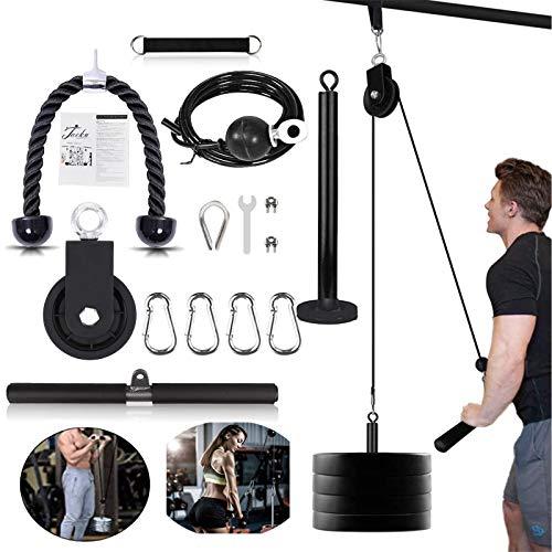 Unterarm Handgelenk Trainer Armmuskulatur Training Seil Seilzug System Arm Blaster Hand Festigkeit Ausrüstung für Bizeps Trizeps Home Gym Workout (Max Belastung 300 lbs)